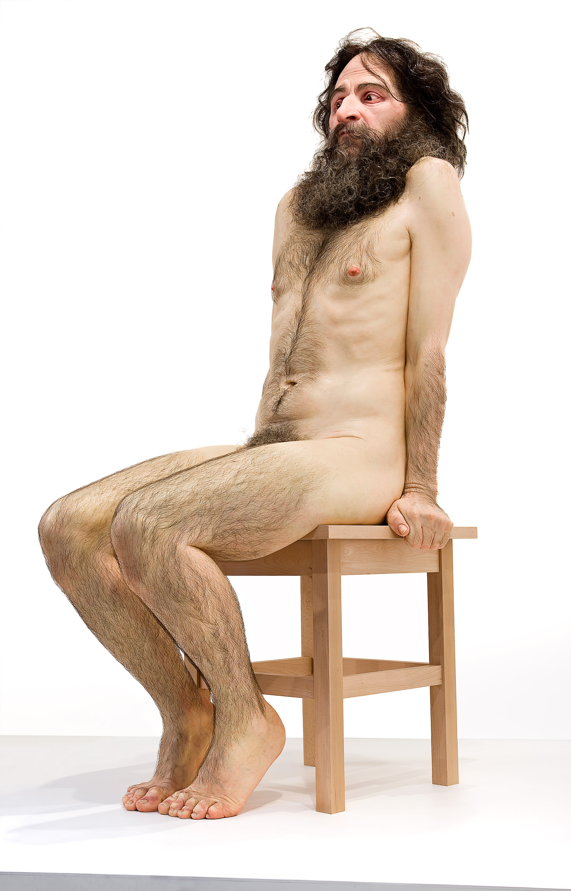 Day 15: Leah Cim in Ogling Ron Mueck's Sculptures « 151 Days Off